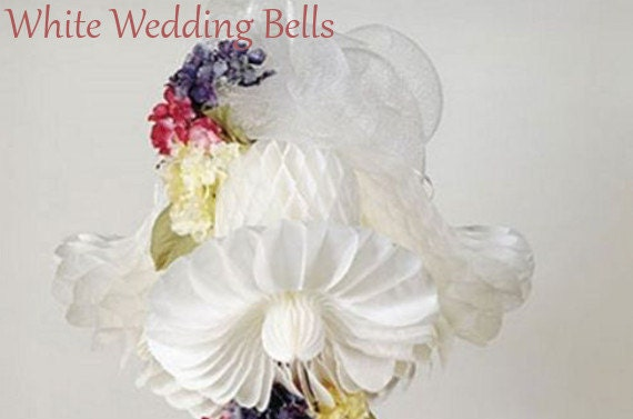 HONEYCOMB BELLS 11 INCH Tissue Paper Decorations Wedding
