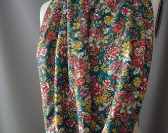 Floral Inspired Infinity Scarf