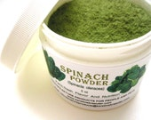 Spinach Powder All Natural Farm-Fresh And Nutritious Super Food 3 oz In Plastic Jar