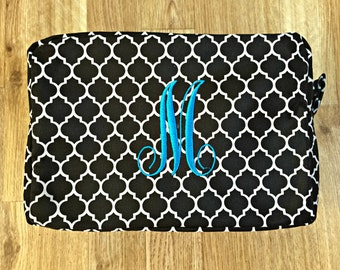 Personalized Makeup bags, Christmas Gifts, Christmas Gift Monogrammed Cosmetic Bag, Gifts, Makeup Bags, Cosmetic Bag
