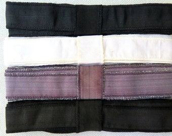Raw Silk Ribbon, K111