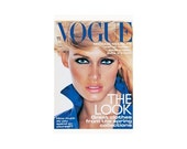 Vogue Magazine - UK March 1995 Vintage issue with cover photograph by Nick Knight