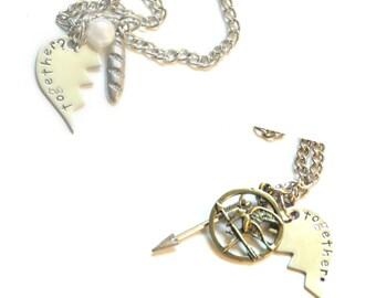 Together? Together. Lovers/Best Friends Necklaces
