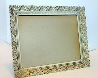 Vintage Gold Hollywood Regency Filigree Frame, Large 11 x 14 photo, Table Top Frame