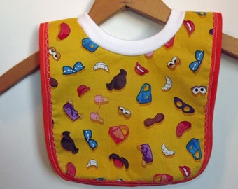 Baby Bib-Small Pull Over Baby Bib for Babies and Toddlers s0024