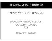 Reserved Interior E-Design Listing for Ellen Striebel