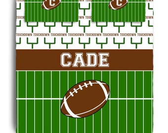 Custom Personalized Football Bedding