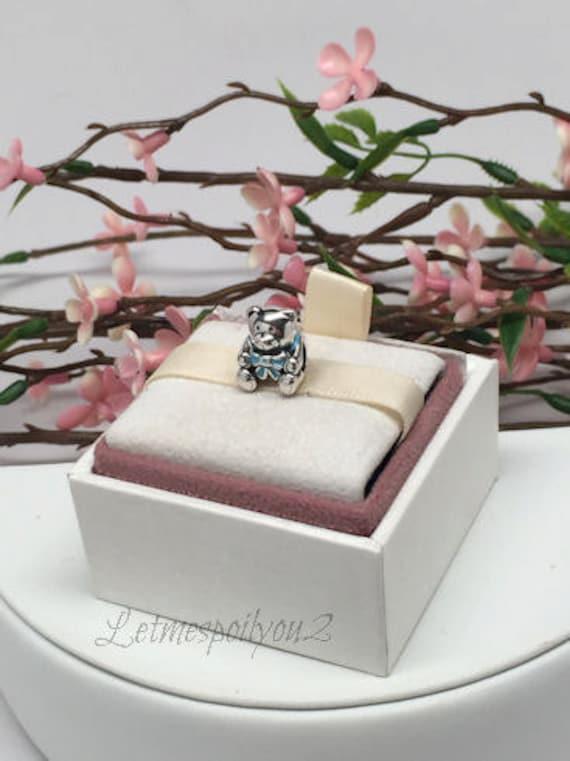 Authentic Pandora Charm Its A Boy Teddy Bear By Letmespoilyou2