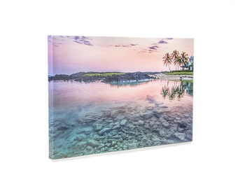 8 x 10 or 10 x 10 Personalized Photo Canvas Print