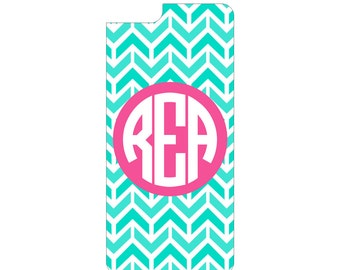 Chevron Monogram Cell Phone Cover for iPhone and Android