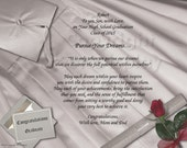 NEW!! 3 Beautiful  Graduation poetries Gift and Keepsake