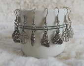 Buddha or Hamsa Charm Earrings - One Pair - Handmade by NoeleBelle