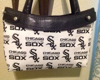 Chicago White Sox MLB skirt purse cover handmade