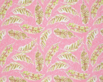 Feather Flock by Tina Givens for Free Spirit - Feather Flocks - Pink - 1/2 yard cotton quilt fabric 516