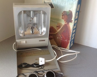 Vintage ultraviolet lamp Philips with box