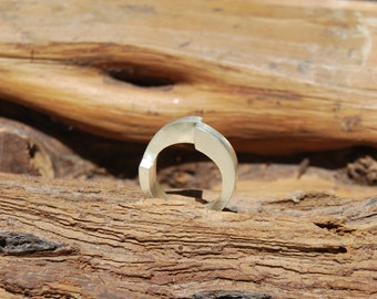 Sterling Silver Ring - Minimal Design - Handmade - Contemporary