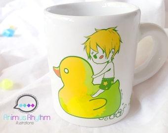 Mini Ceramic Mug: Hetalia England APH Anime cup