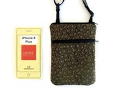 iPhone6 plus Hipster, Smartphone Case, Small Purse