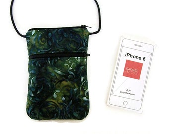 Cell Phone Purse, Small Purse, Small CrossBody Bag, iPhone Purse, Phone Case