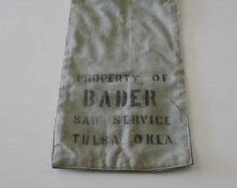 Saw Service Bag
