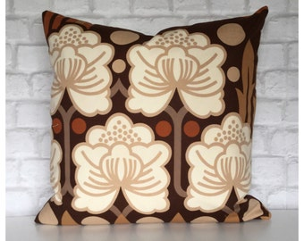 """Cushion Cover Vintage 70s Heals Rosamund Fabric Peter Hall For Heals 20"""" x 20"""""""