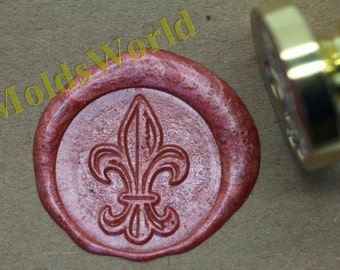S1003 Lily Saint Wax Seal Stamp , Sealing wax stamp, wax stamp, sealing stamp