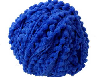 5 Yards - Pom Pom Lace - Turquoise Pom Pom - Pom Pom Supply - Cushion Cover - Dress - Quilting