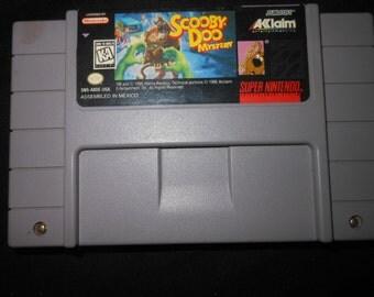 SNES scooby doo - video game - Super Nintendo -