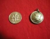 Vintage Liberty Dime Silver Charm