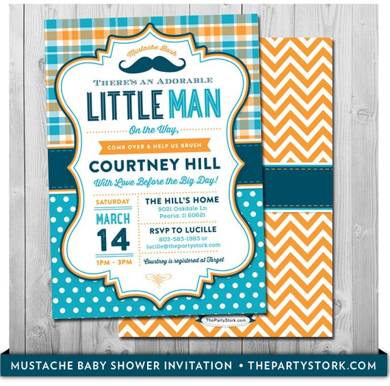 Mustache baby shower invitation printable little man party invite il570xn filmwisefo