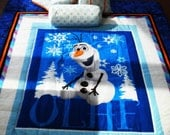 Reserved for gosialee- - - OLAF from 'Frozen' Quilt Set