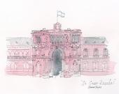 La Casa Rosada Giclee Print