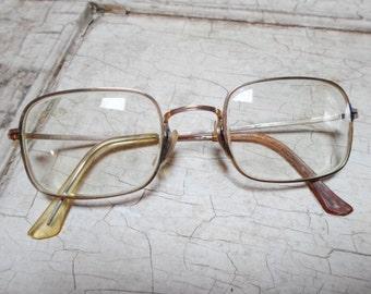 Artcraft Eyeglasses, Vintage Eyeglasses, Mens Eyeglasses, 12 K GF, Gold Filled, Sunglasses, Vintage Frames, Optical, 1970s, All Vintage Man