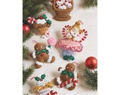 Plaid Bucilla Cupcake Angel Felt Ornament Kit Holiday Christmas