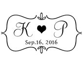 Wedding stamp,save the date stamp,SELF INKING custom address stamp,personalized stamp,WS10