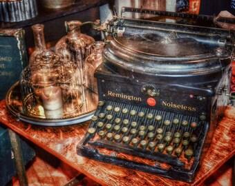Vintage Typewriter Photo Print