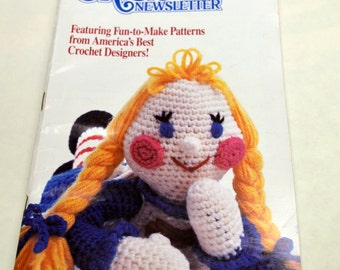 Annie's Crochet Newsletter Vintage No 30 Nov Dec 1987 Never opened Subscription Cards included