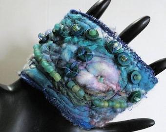 Aegean Sea Cuff Bracelet