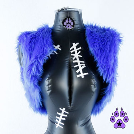 Faux Fur Vest from Pawstar