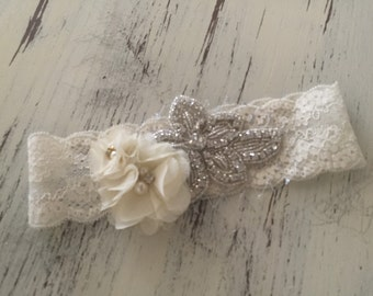 Rhinestone Headband- Baby Girl Headband- Flower Girl Headband- Tutu Du Monde- Well Dressed Wolf- Bridal Flower Girl Headband-Boho Headband