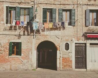 Venice Laundry Fine Art Photograph