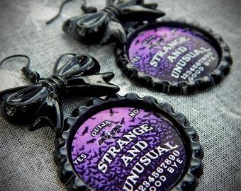 Strange Ouija earrings