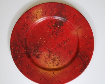 Earth Tones Decorative Plate