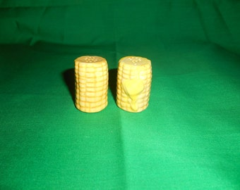 One (1), Collectible Salt & Pepper Shakers, in the Shape of Corn Cobs.