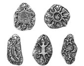 10% OFF Petroglyph Collection Pewter Charms
