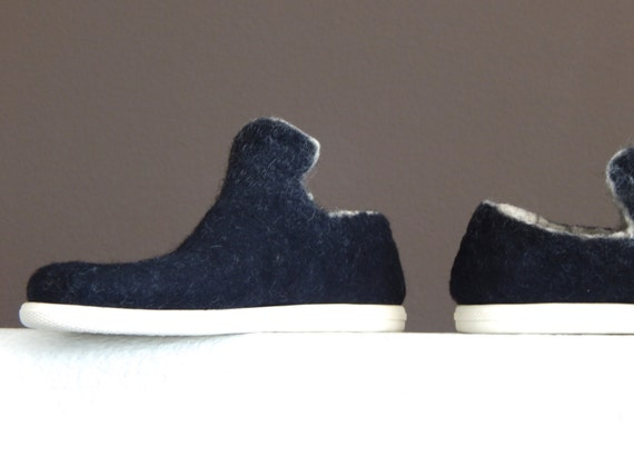 Felted Vintage Style Sneakers from Momoish