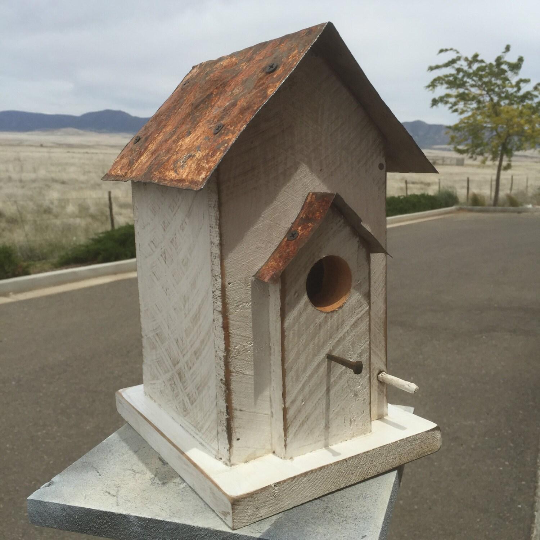 Primitive Bird House Antique Style Bird House Functional