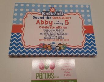 Octonauts Invitation