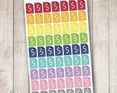 Rainbow Bills, Set of 63