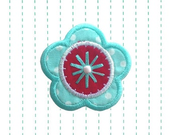 Iron on Patch Flower Applique